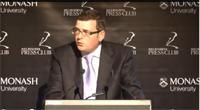 Daniel Andrews Melbourne Press Club Address
