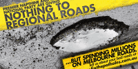 Mr Napthine's Policy Potholes
